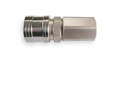 "High Flow Coupler, 1/4"" Female"
