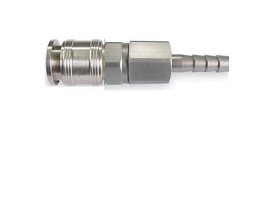 "Universal Coupler, 1/4"" Barb, 1/4"" Body"